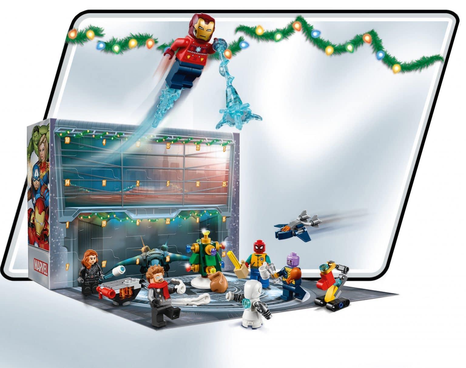 LEGO Marvel 76196 Adventskalender 01