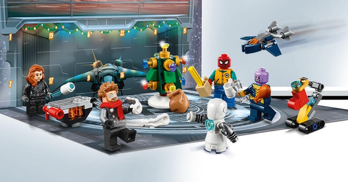 LEGO Marvel 76196 Adventskalender 02