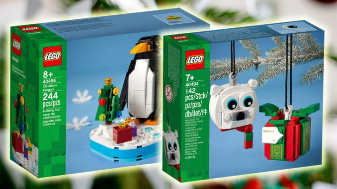 LEGO Seasonal Weihnachten 2021