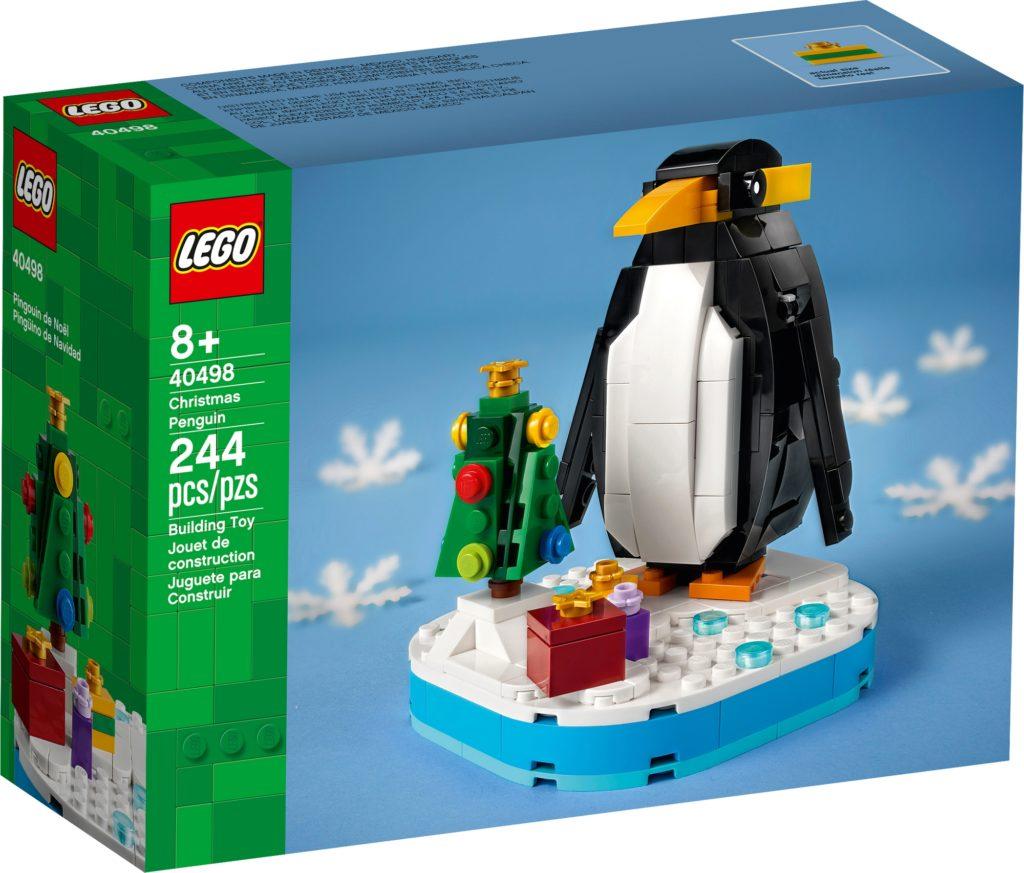 LEGO Sonstiges 40498 Weihnachtspinguin 2