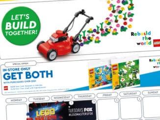 LEGO Store Flyer September 2021