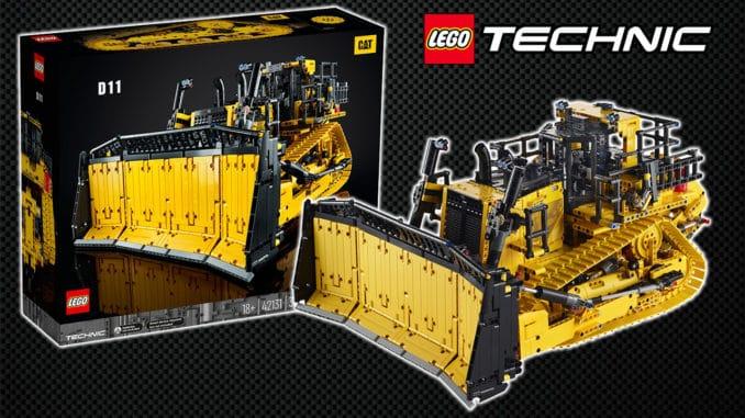 LEGO Technic 42131 Cat D11 Bulldozer Titel