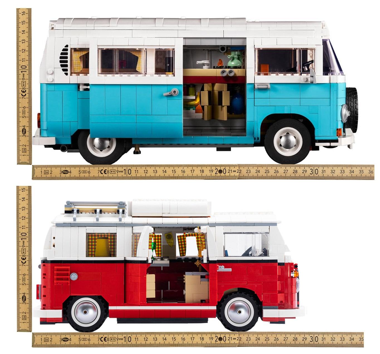 LEGO Vw Vergleich T1 Und T2