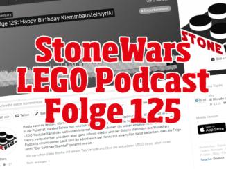 StoneWars LEGO Podcast Folge 125