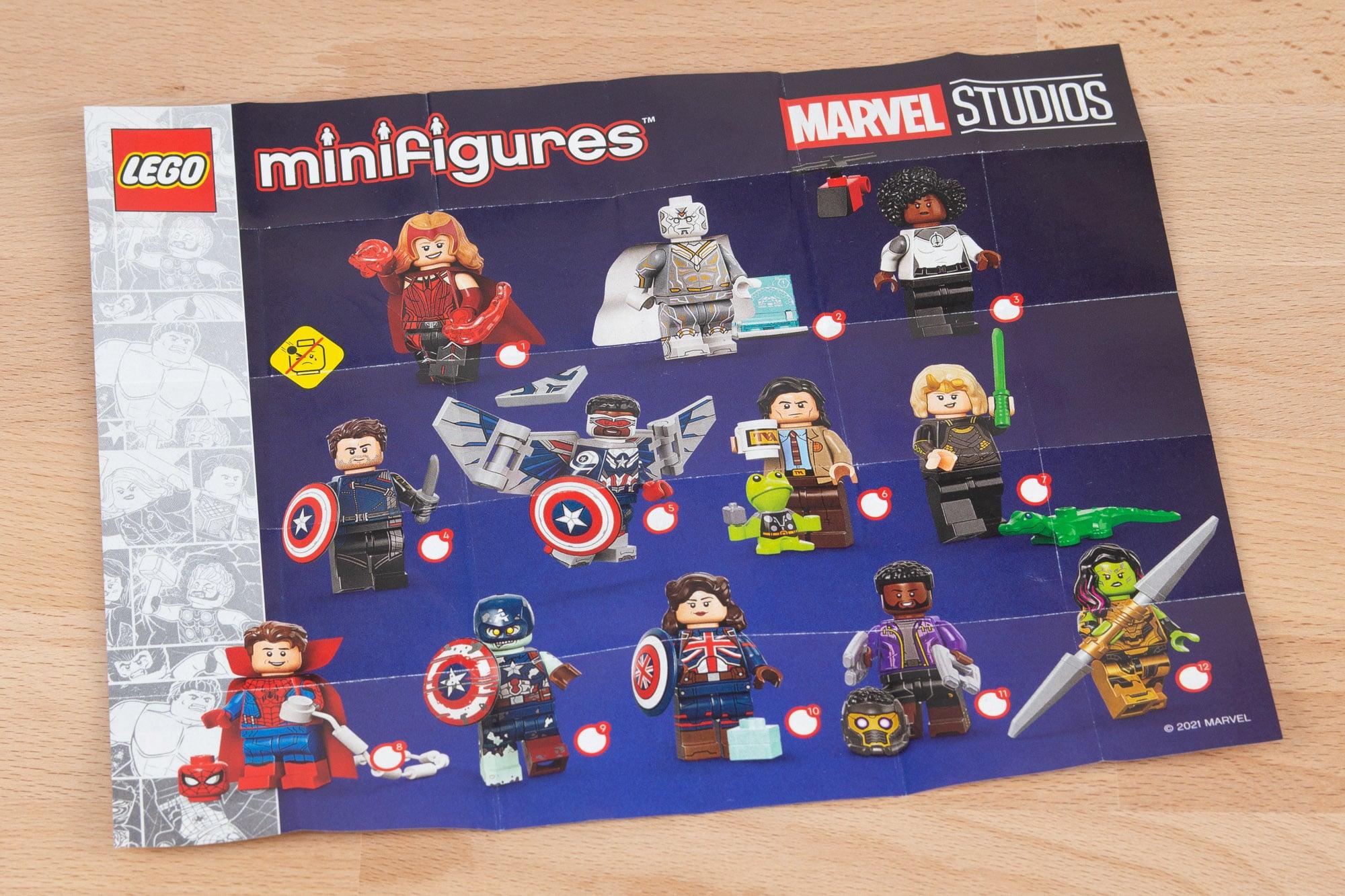 71031 Marvel Minifiguren Serie 67