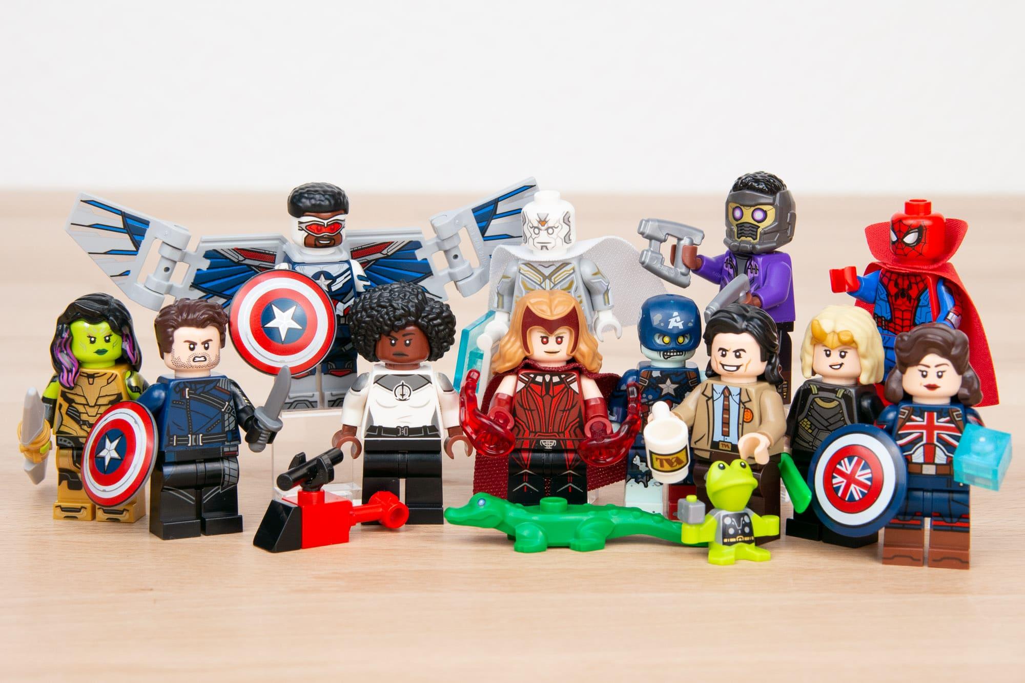 71031 Marvel Minifiguren Serie 69