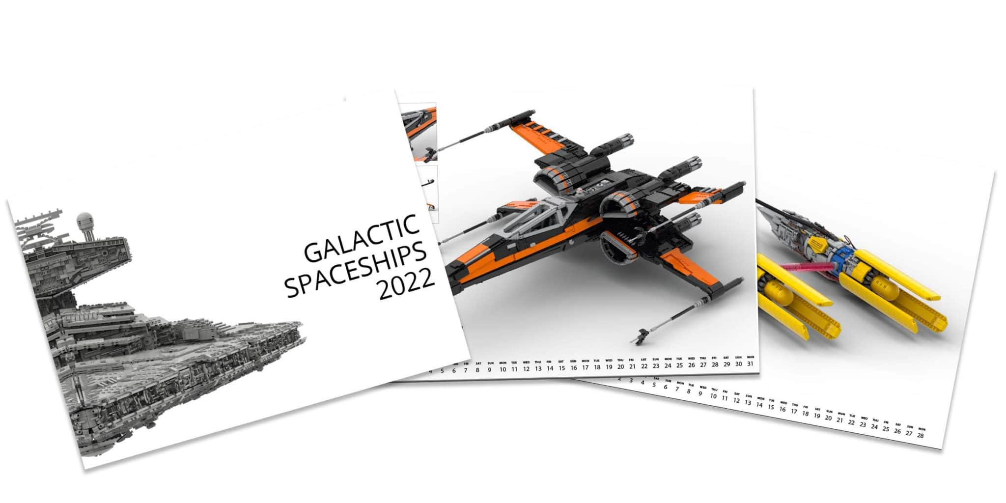Jb Spielwaren Kalender Galactic Spaceships 2022