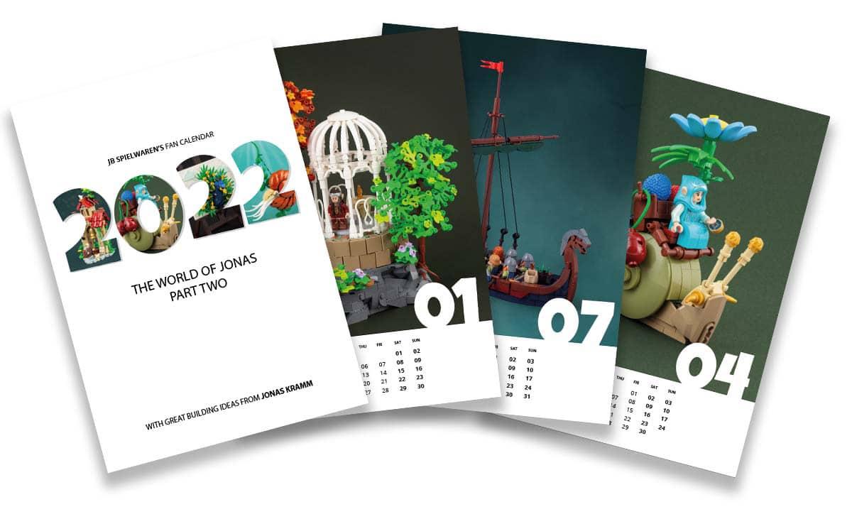 Jb Spielwaren Kalender Jonas World Part Two 2022