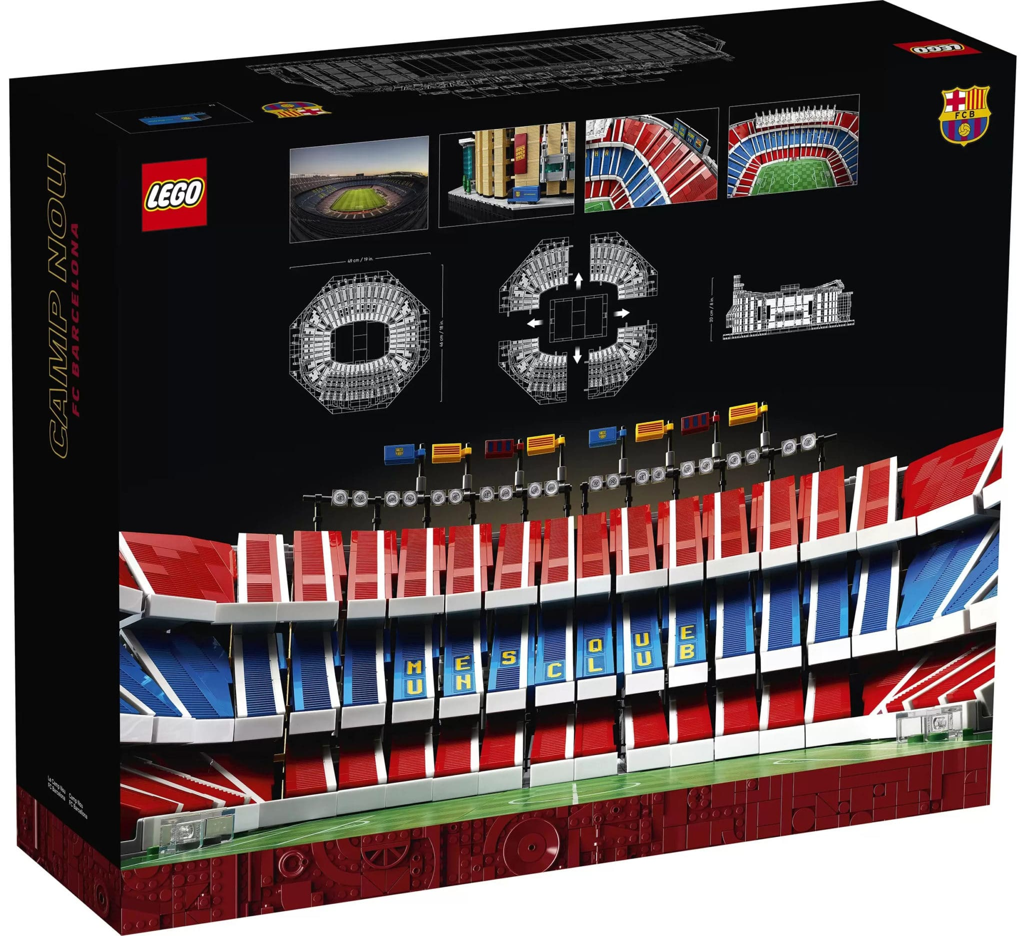 LEGO 10284 Fc Barcelona Camp Nou Stadion (28)