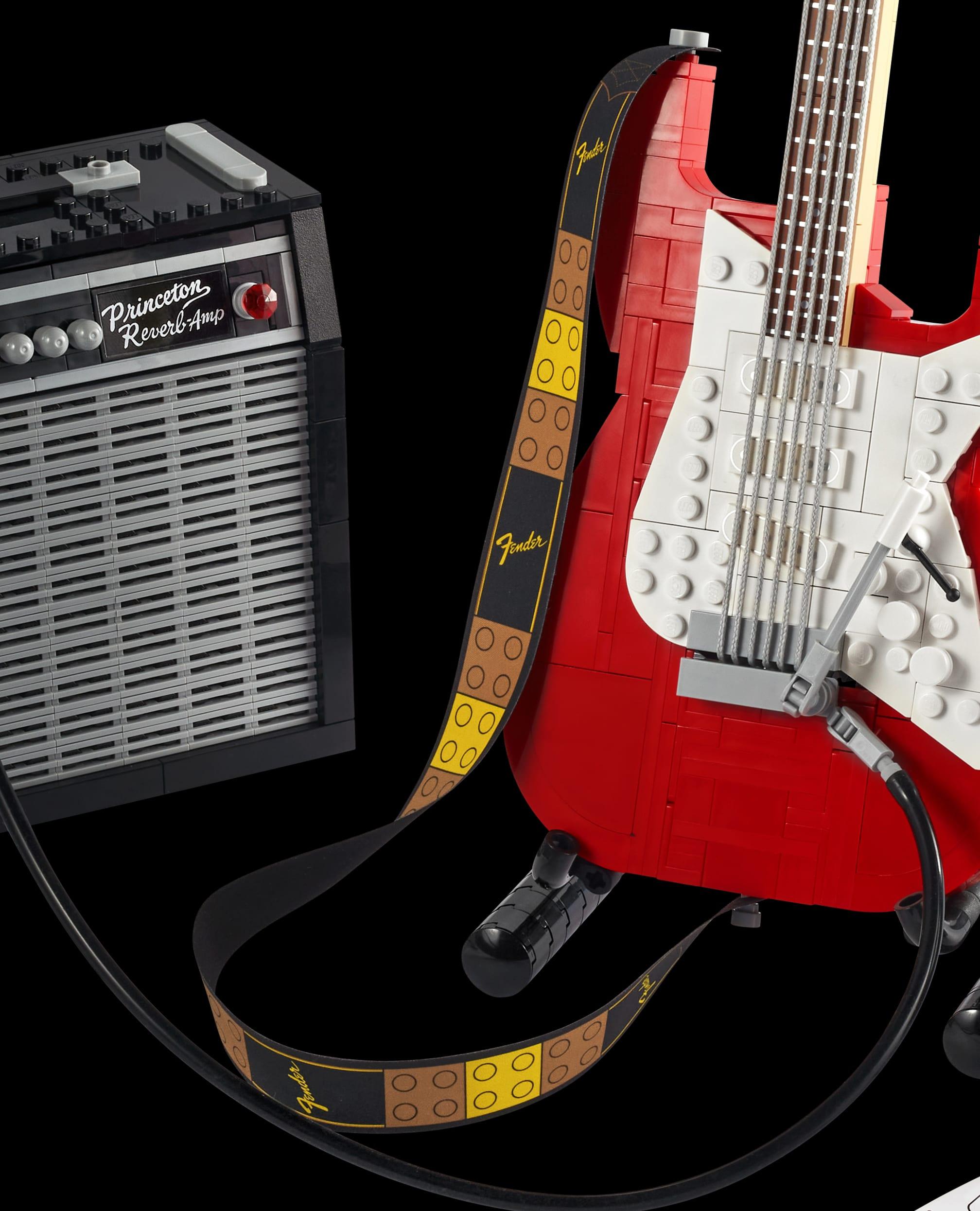 LEGO 21329 Fender Stratocaster Neue Teile06