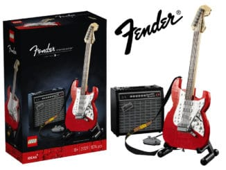 LEGO 21329 Fender Stratocaster Titel