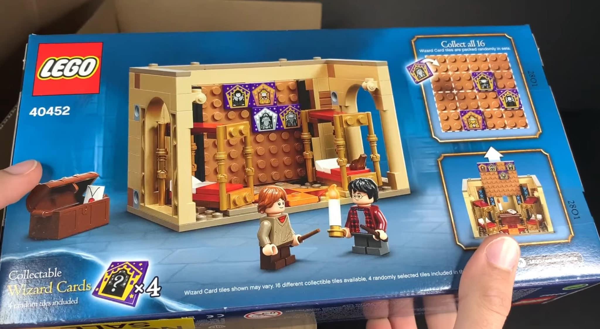 LEGO 40452 Hogwarts Gryffindor Schlafsaal Box Hinten Screenshot