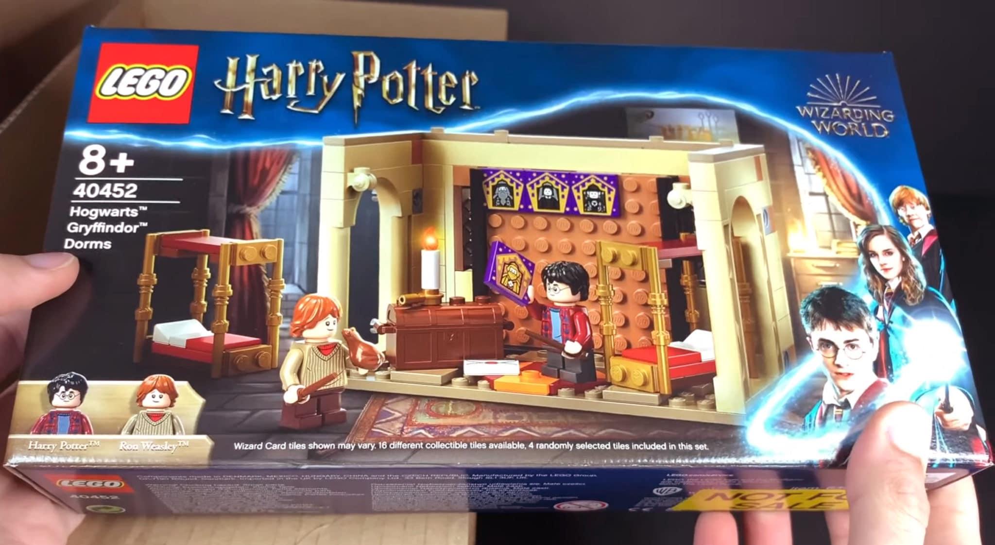 LEGO 40452 Hogwarts Gryffindor Schlafsaal Box Vorne Screenshot