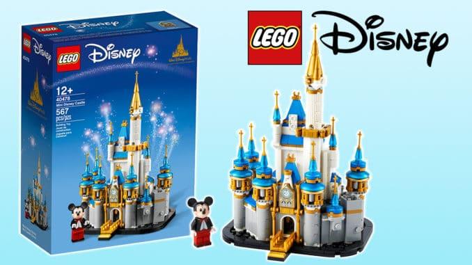 LEGO 40478 Kleines Disney Schloss Titel 2