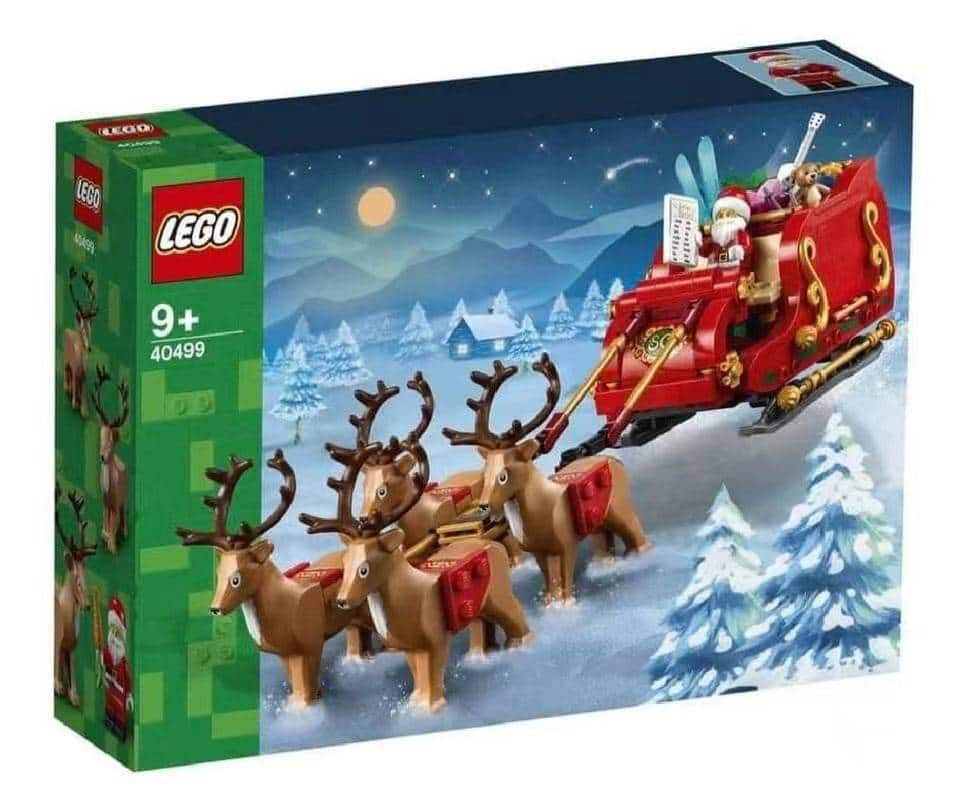 LEGO 40499 Santa Sleigh Box Klein