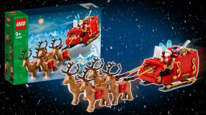 LEGO 40499 Santa Sleigh Titelbild 02