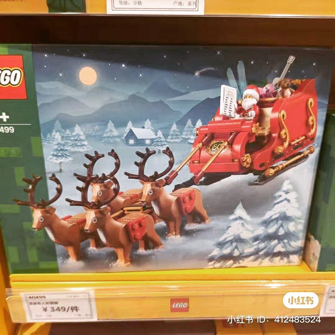 LEGO 40499 Santas Sleigh Leak 2