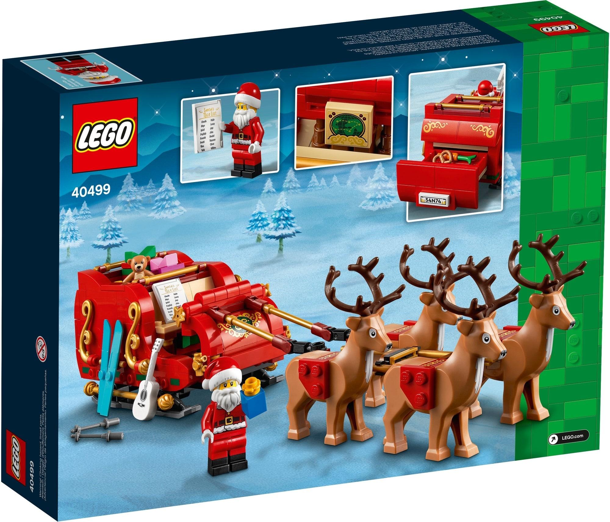 LEGO 40499 Seasonal Schlitten Des Weihnachtsmanns 3