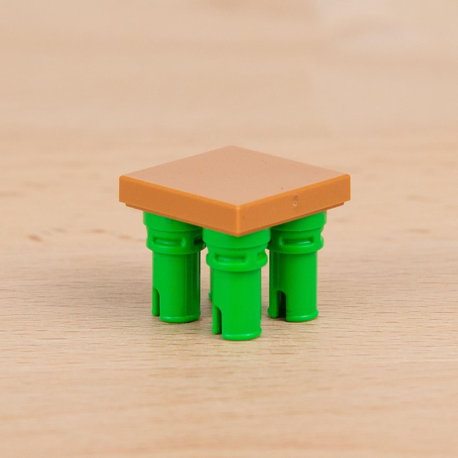 LEGO 65826 Technic Pin Gruen 2