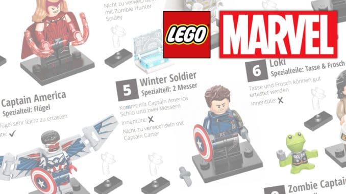 LEGO 71031 Marvel Feel Guide Titel