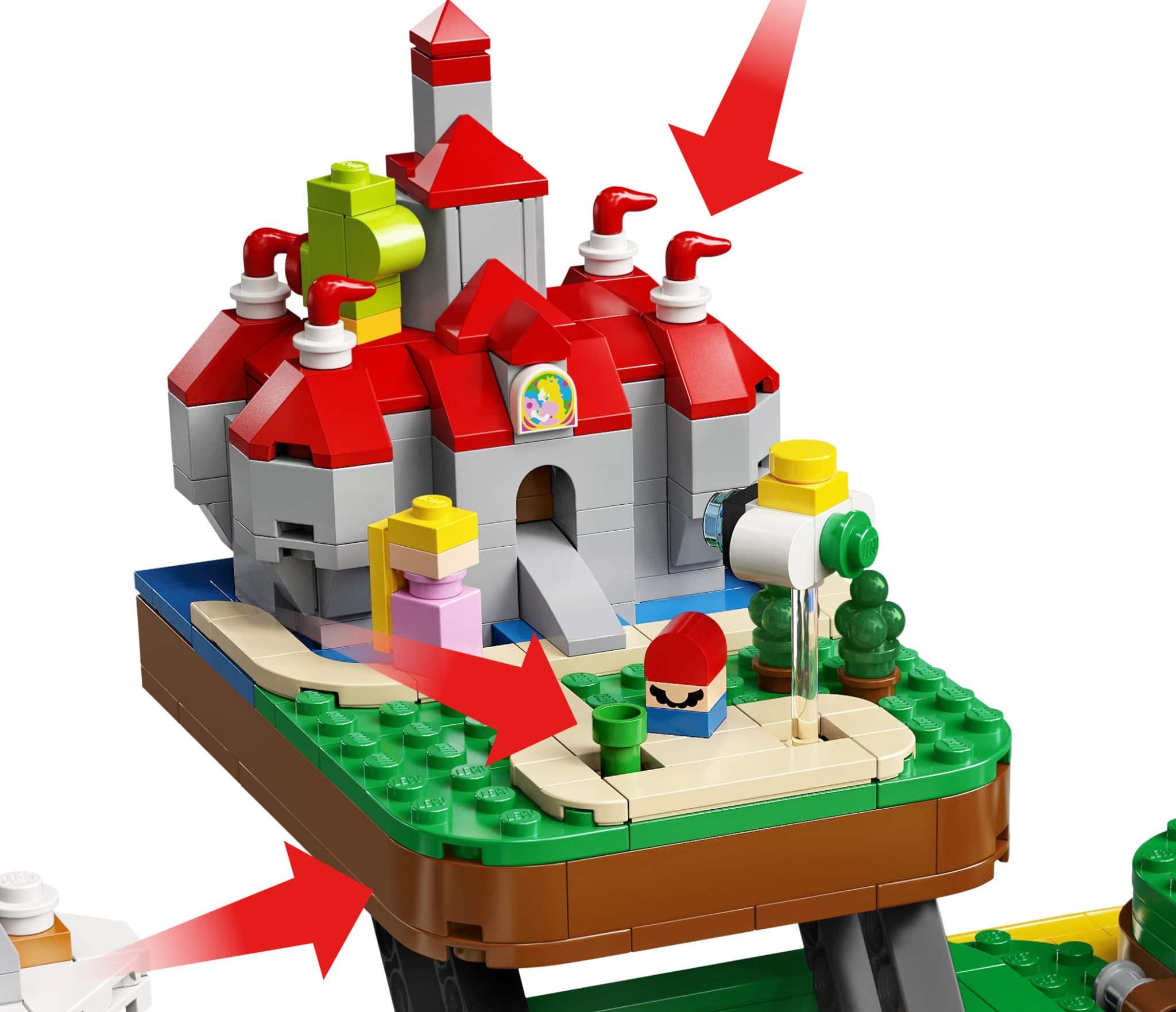 Nuovo LEGO 71395 Parti 03