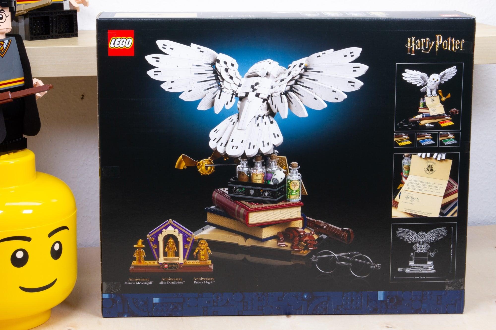 LEGO 76391 Hogwarts Icons Review Karton Hinten 2