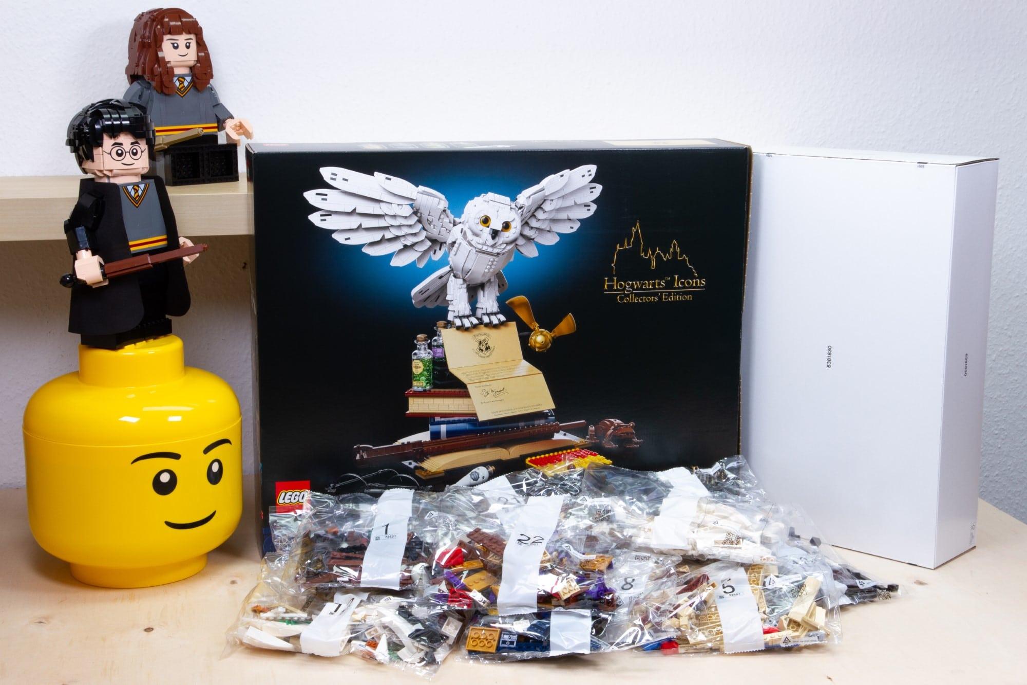 LEGO 76391 Hogwarts Icons Review Unboxing 1