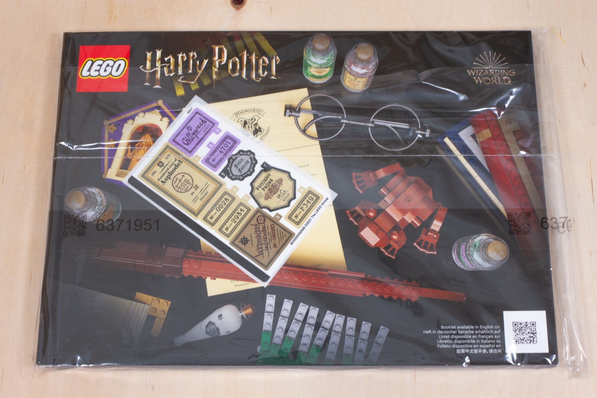 LEGO 76391 Hogwarts Icons Review Unboxing 2 Anleitung