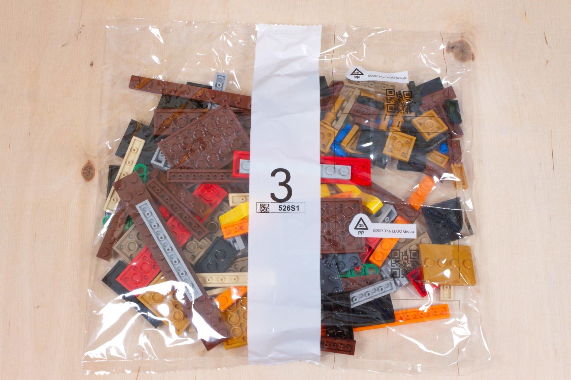 LEGO 76391 Hogwarts Icons Review Unboxing 2 Schritt 3
