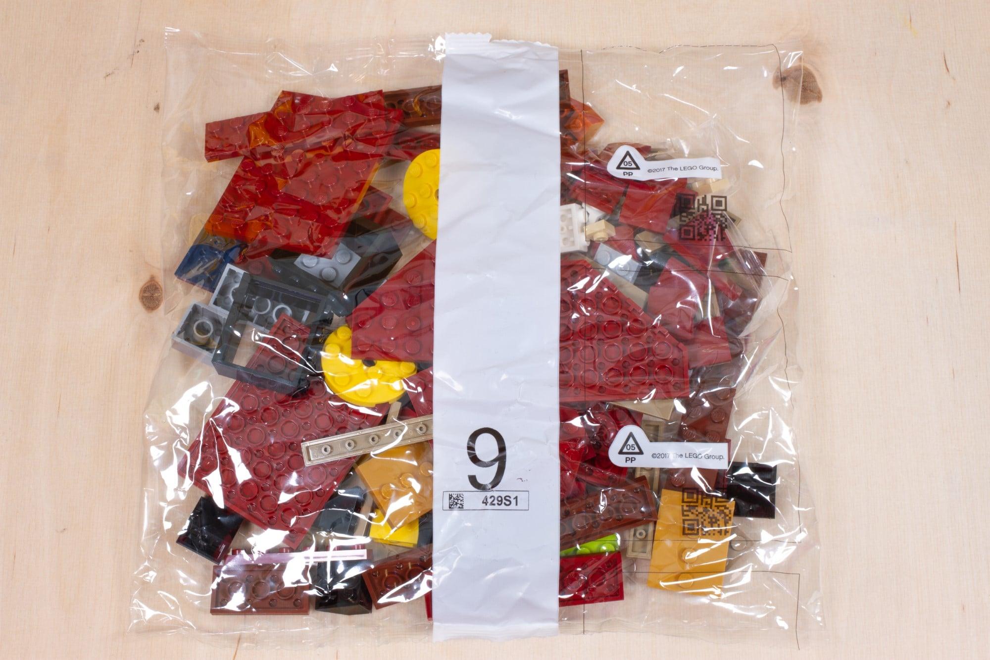 LEGO 76391 Hogwarts Icons Review Unboxing 2 Schritt 9