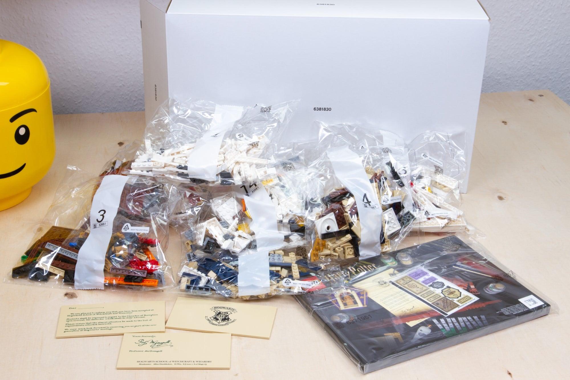 LEGO 76391 Hogwarts Icons Review Unboxing 2