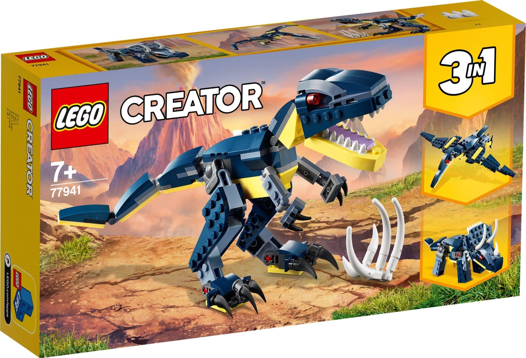 LEGO 77941 Dinosaurier Blau