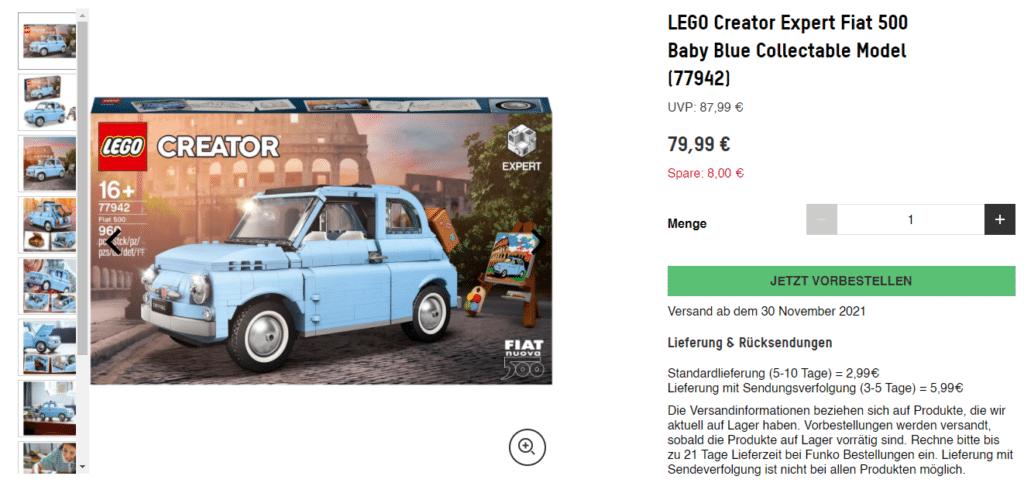 LEGO 77942 Zavvi