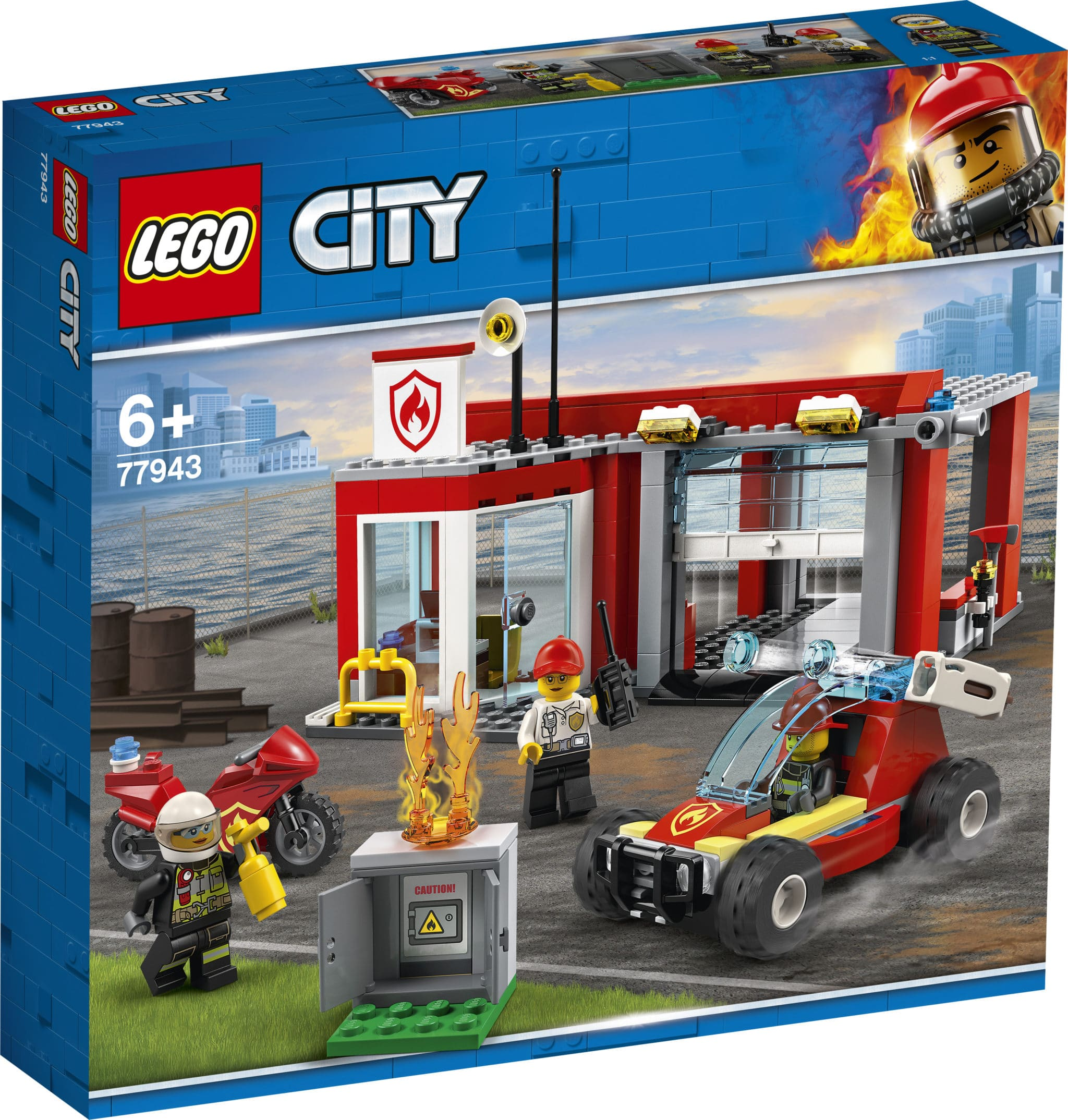 LEGO 77943 Feuerwachse Starterset