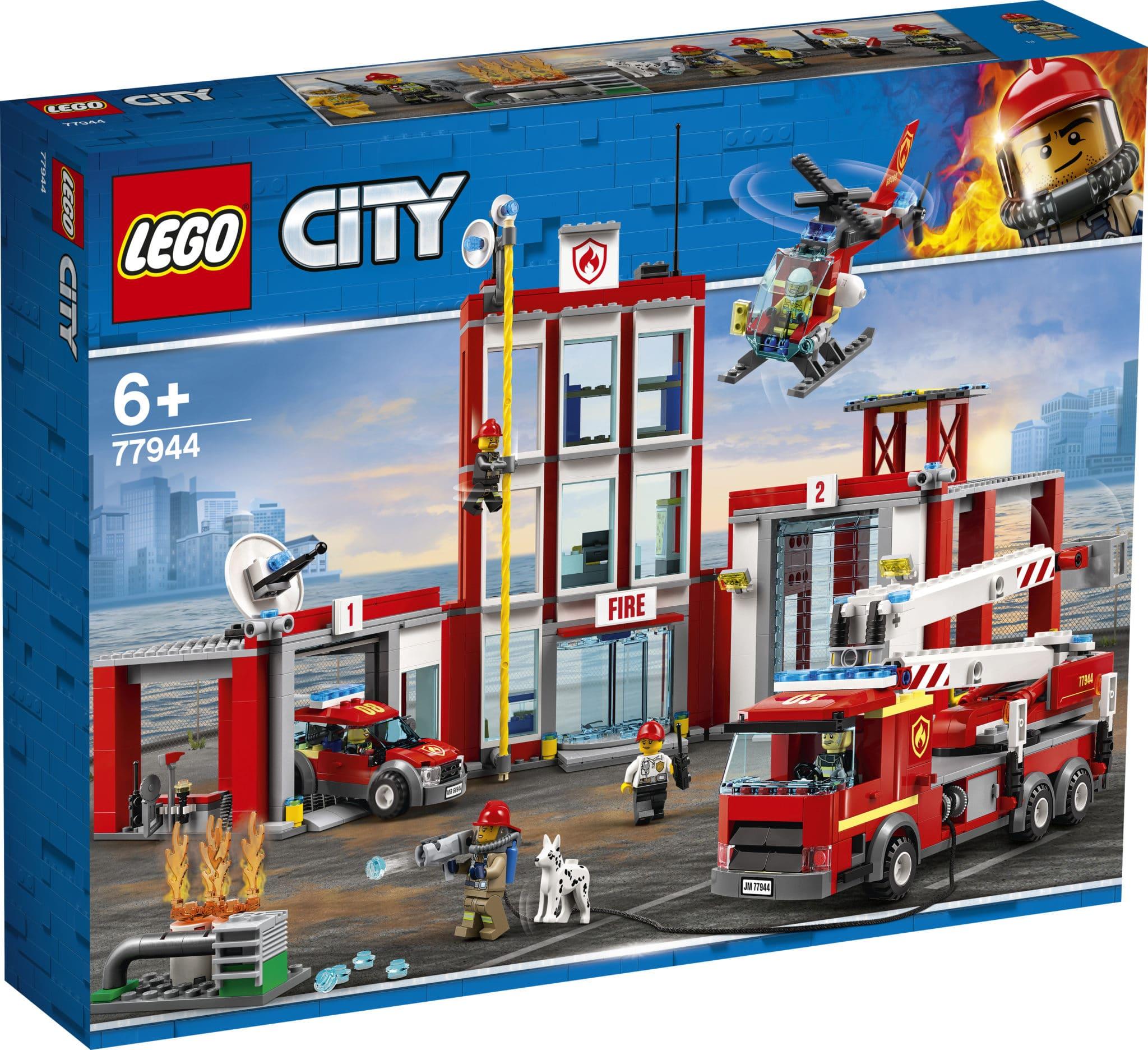 LEGO 77944 Feuerwehrzentrale