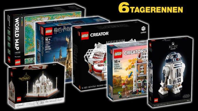 LEGO Angebote Galeria 6 Tage Rennen