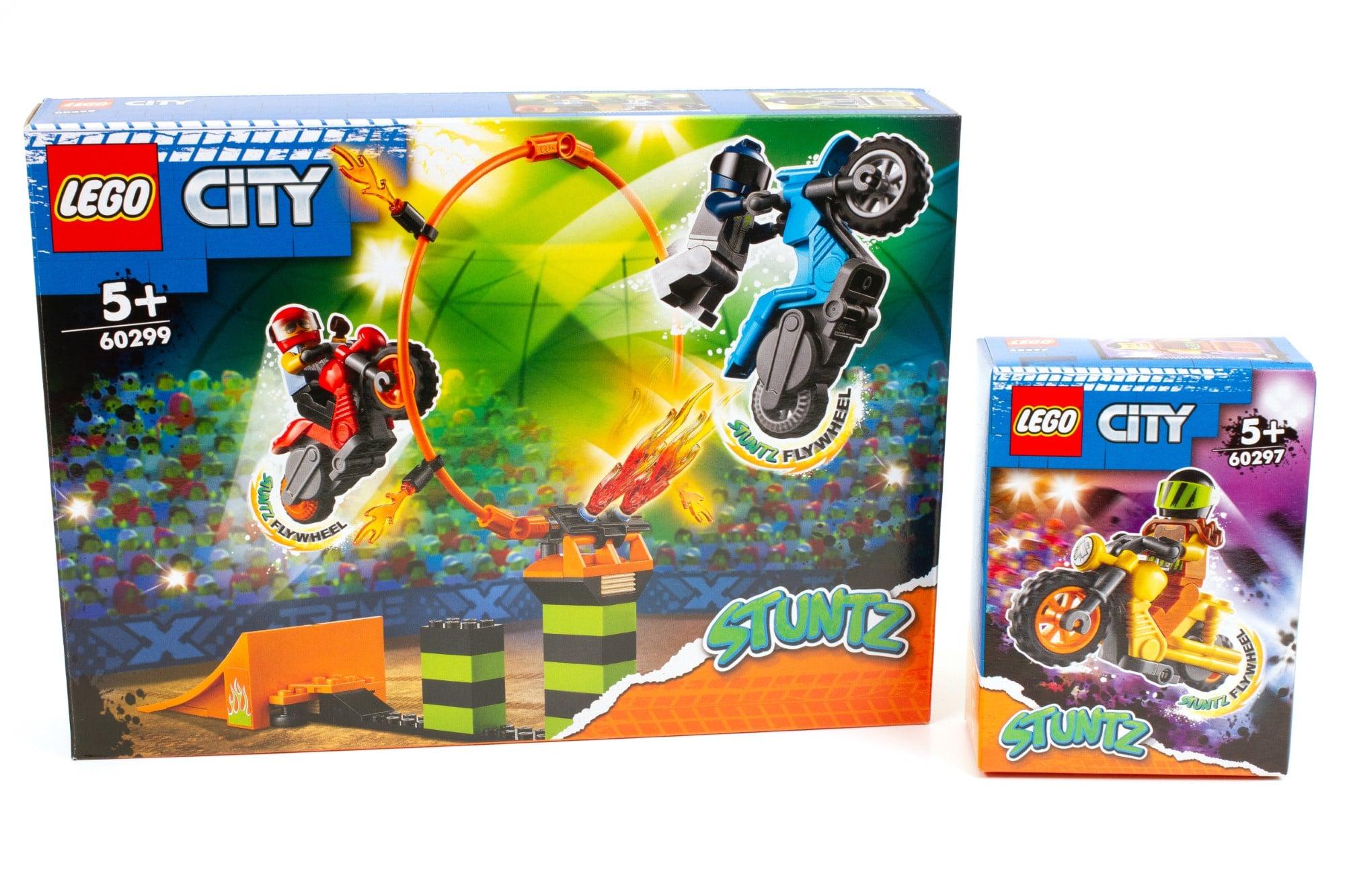 LEGO City Stuntz Praxistest 60297 60299