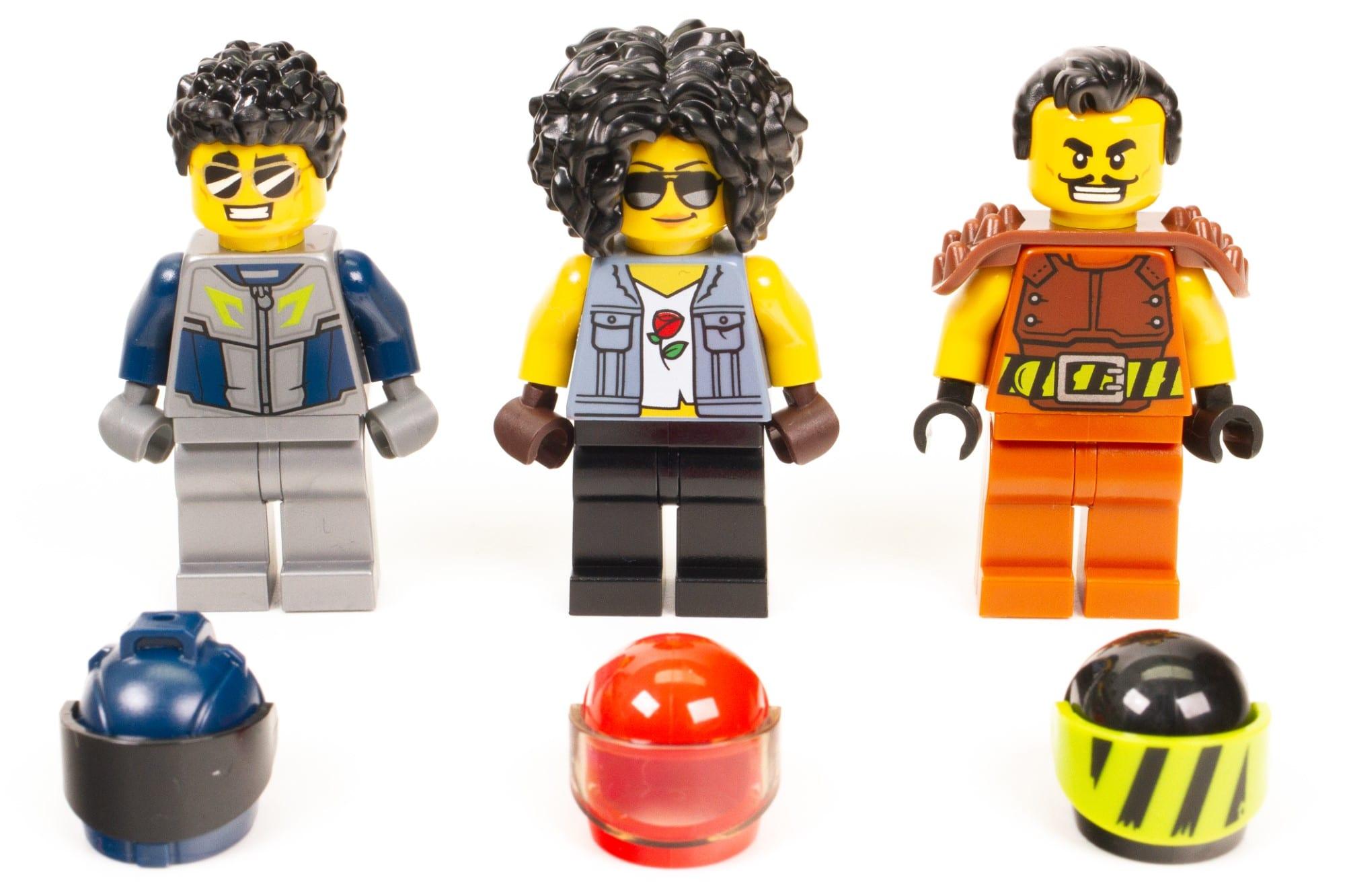 LEGO City Stuntz Praxistest Minifiguren 1
