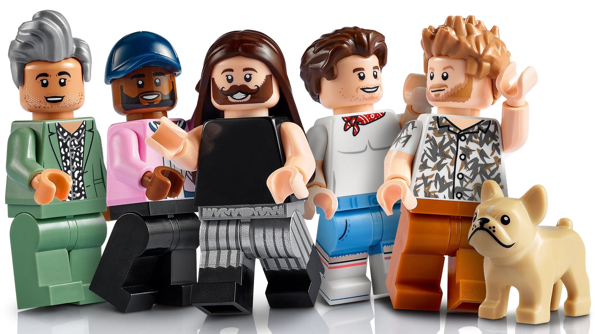 LEGO Creator Expert 10291 Queer Eye The Fab 5 Loft 5