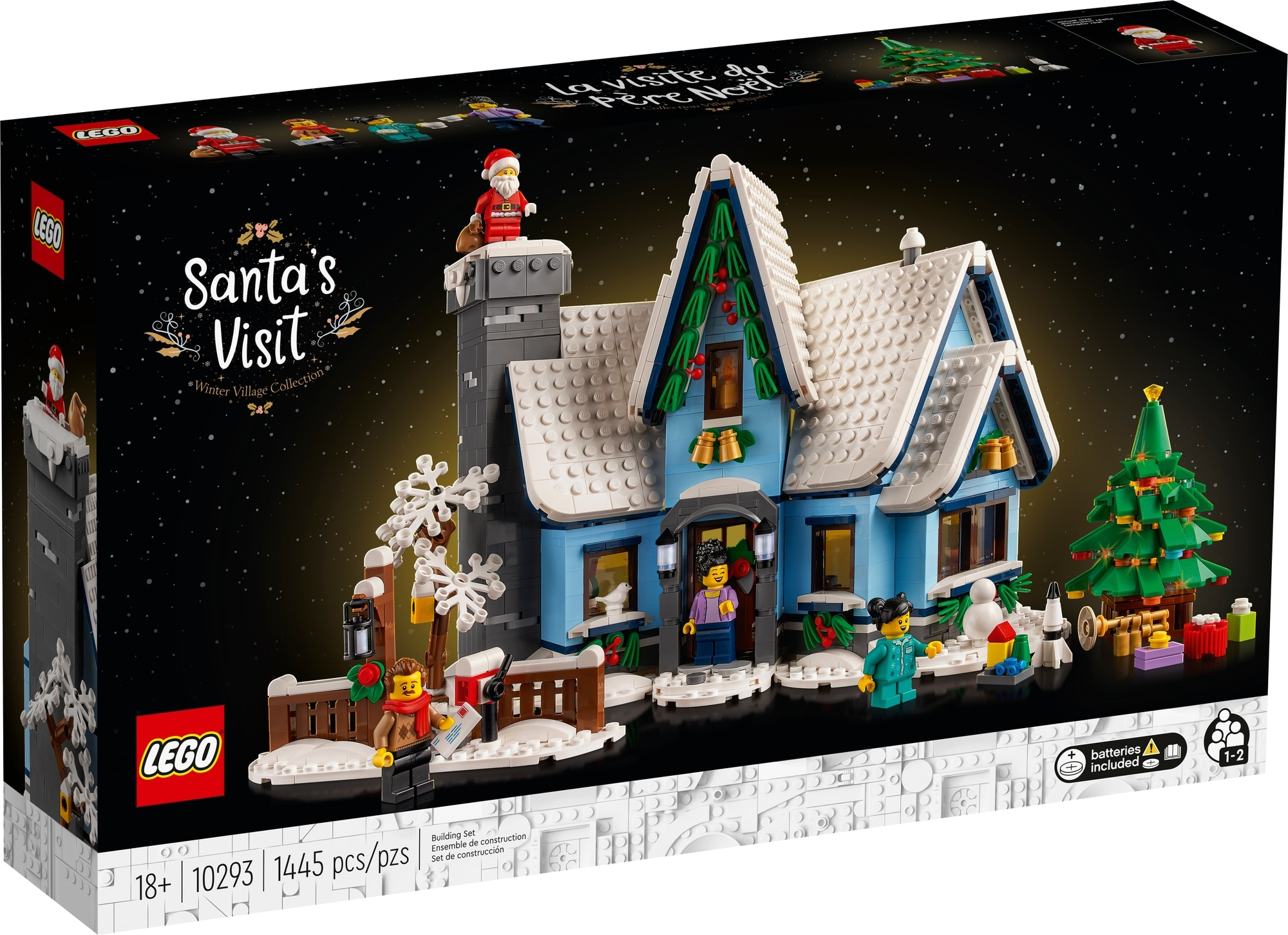 LEGO Creator Expert 10293 Santas Visit 2