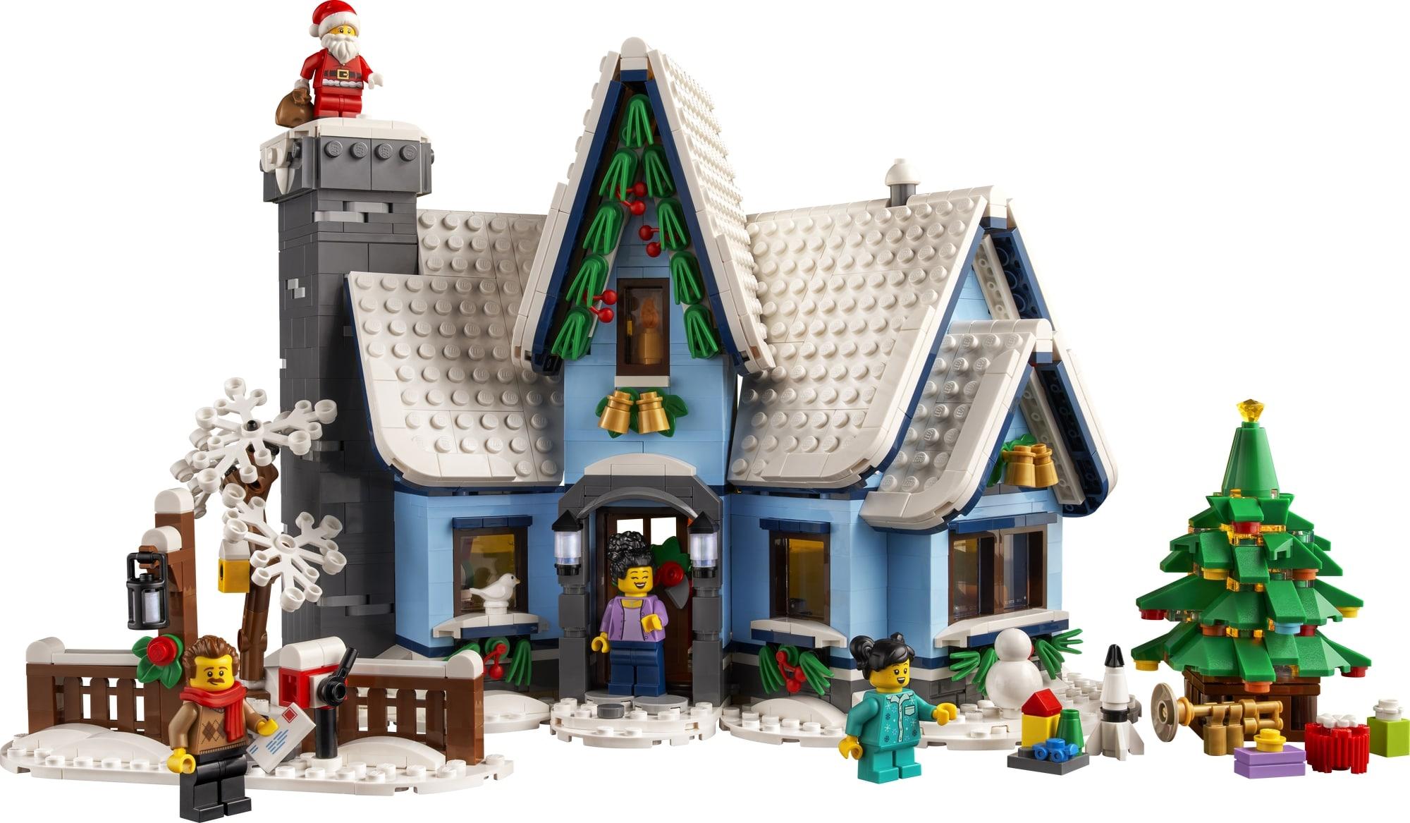 LEGO Creator Expert 10293 Santas Visit 3