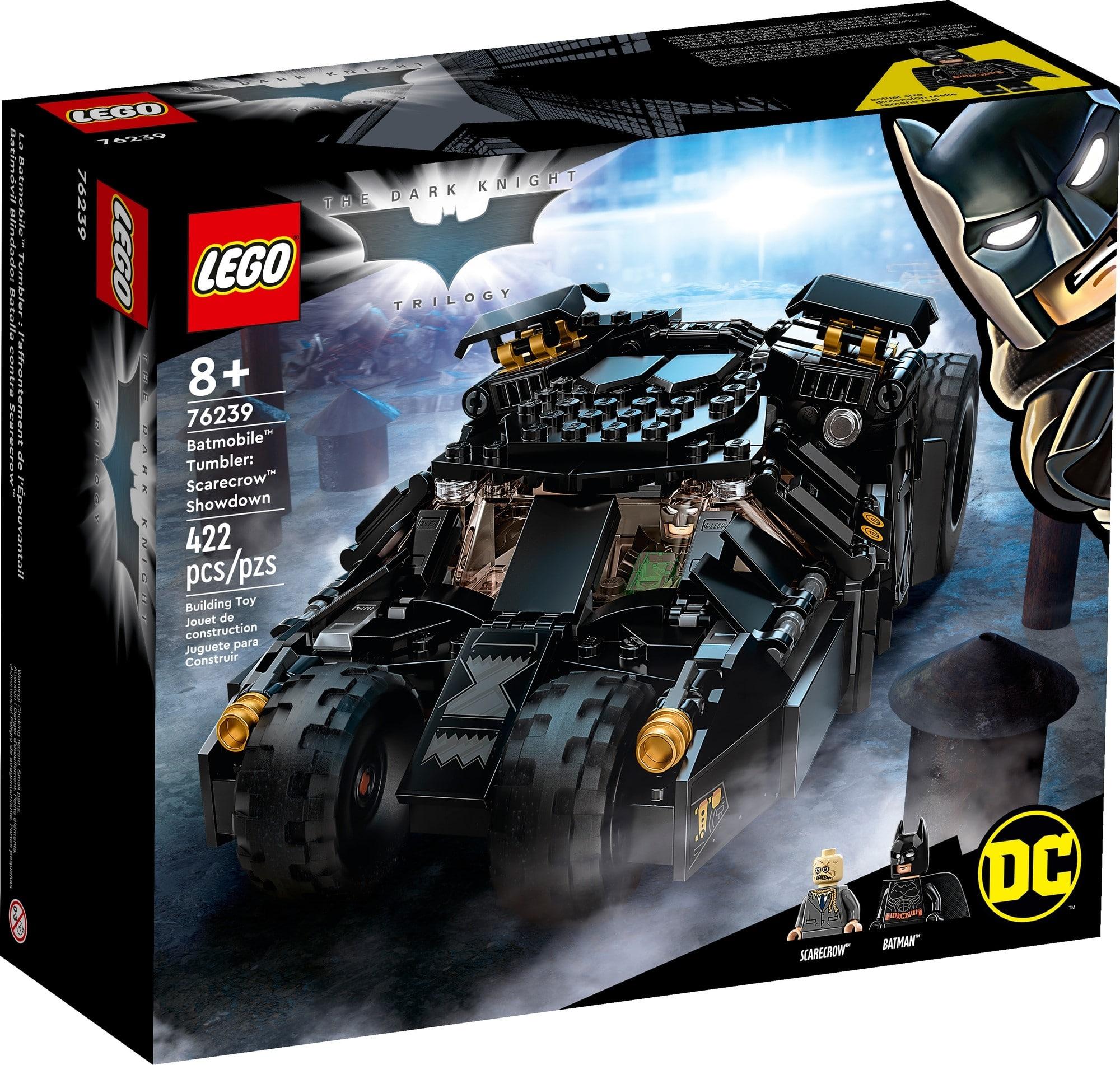 LEGO Dc 76239 LEGO Dc Batman Batmobile Tumbler Duell Mit Scarecrow 2