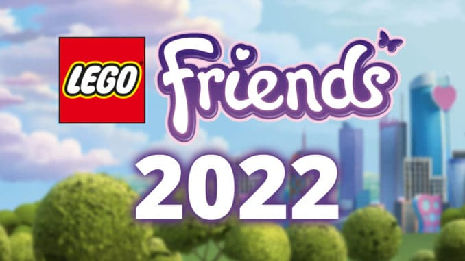 LEGO Friends Neuheiten 2022 Titelbild