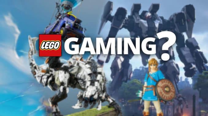 LEGO Gaming Themenreihe Titelbild