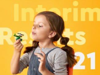 LEGO Halbjahresergebnis 2021