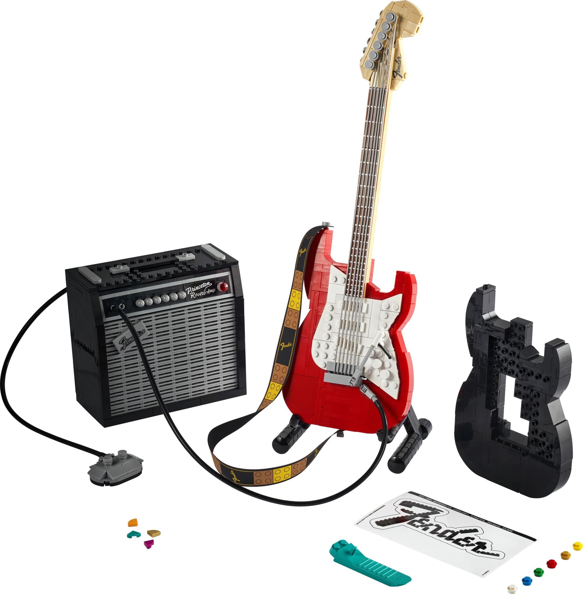 LEGO Ideas 21329 Fender Stratocaster (1)