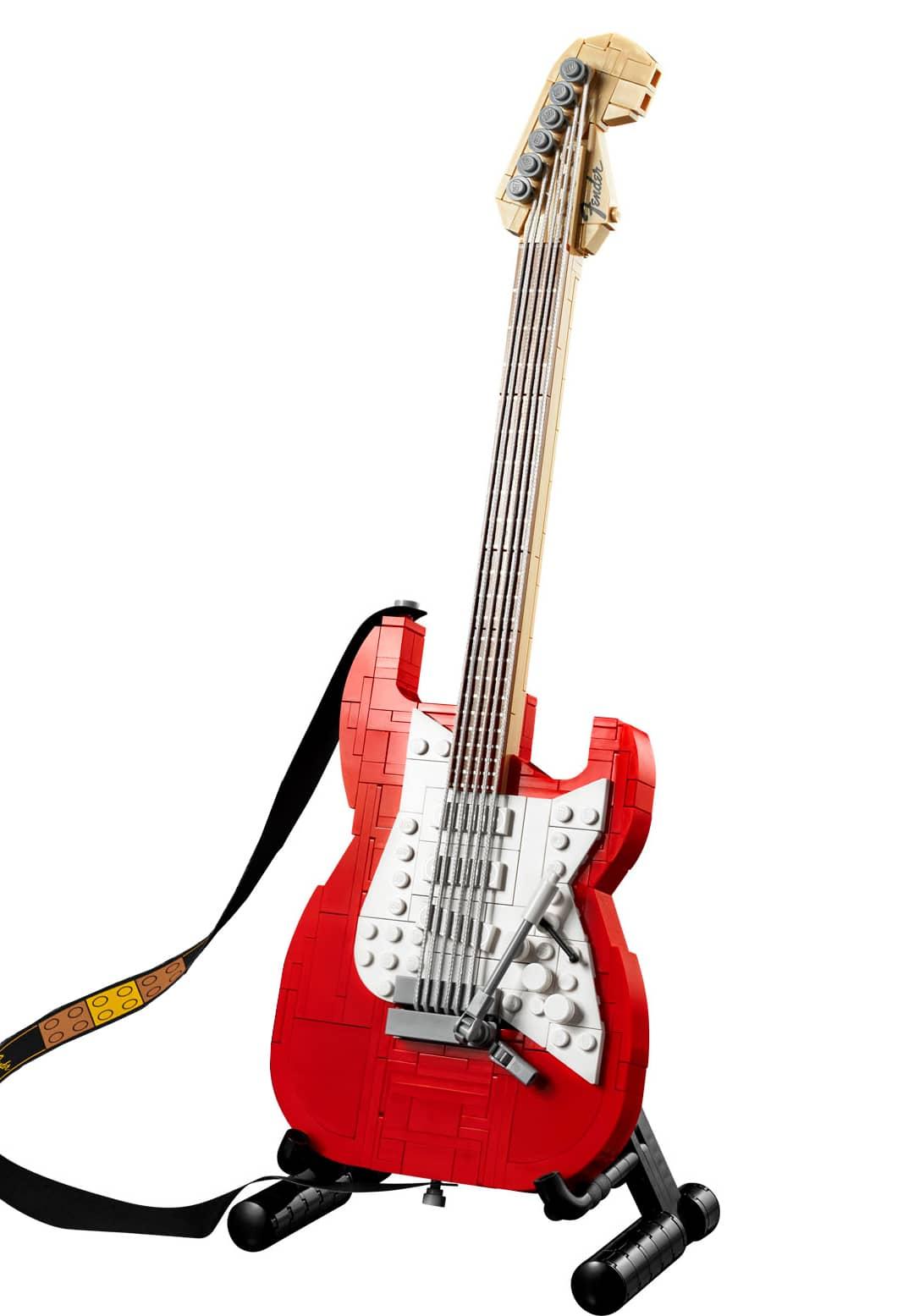 LEGO Ideas 21329 Fender Stratocasters Slider Ideas Vergleich 1