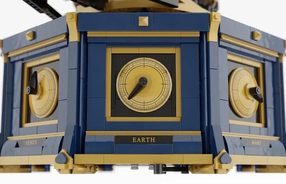 LEGO Ideas Clockwork Solar System (3)
