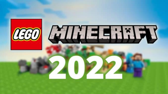 LEGO Minecraft Neuheiten 2022 Titelbild