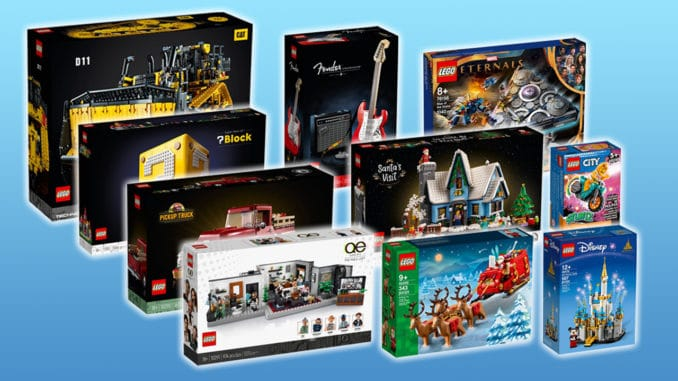 LEGO Neuheiten Oktober 2021 Titel